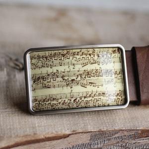 Bach kotta övcsat , Táska, Divat & Szépség, Férfiaknak, Öv, övcsat, Vőlegényes, Ékszerkészítés, Mindenmás, Ha SÜRGŐS, kérdezz vásárlás előtt, lehet, hogy van belőle kész darabom is.\n_________________________..., Meska