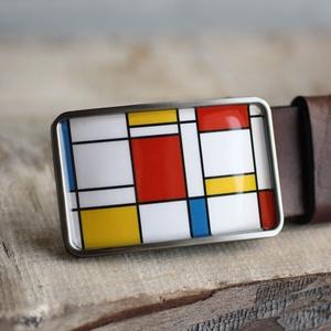 Mondrian szögletes övcsat, Táska, Divat & Szépség, Férfiaknak, Öv, övcsat, Ha SÜRGŐS, kérdezz vásárlás előtt, lehet, hogy van belőle kész darabom is. _________________________..., Meska