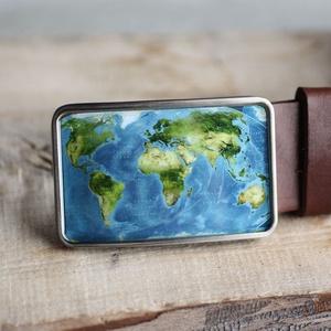 Földrajzi világtérkép szögletes övcsat, Övcsat, Öv & Övcsat, Ruha & Divat, Ékszerkészítés, Mindenmás, Ha SÜRGŐS, kérdezz vásárlás előtt, lehet, hogy van belőle kész darabom is.\n_________________________..., Meska