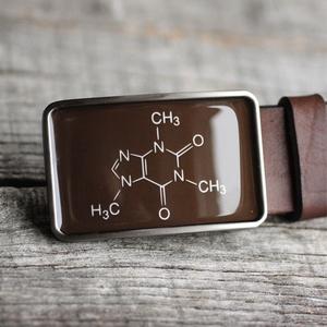 Koffein molekula  övcsat (barna), Táska, Divat & Szépség, Öv, Ruha, divat, Férfiaknak, Ékszerkészítés, Mindenmás, Ha SÜRGŐS, kérdezz vásárlás előtt, lehet, hogy van belőle kész darabom is.\n_________________________..., Meska