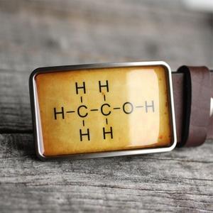 Alkohol molekula övcsat (sárga), Övcsat, Öv & Övcsat, Ruha & Divat, Ékszerkészítés, Mindenmás, Ha SÜRGŐS, kérdezz vásárlás előtt, lehet, hogy van belőle kész darabom is.\n_________________________..., Meska