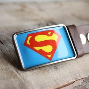 Superman övcsat, Férfiaknak, Öv, övcsat, Vőlegényes, Ballagás, Ünnepi dekoráció, Dekoráció, Otthon & lakás, Ékszerkészítés, Mindenmás, Ha SÜRGŐS, kérdezz vásárlás előtt, lehet, hogy van belőle kész darabom is.\n_________________________..., Meska