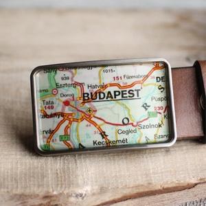 Budapest övcsat (zöld), Övcsat, Öv & Övcsat, Ruha & Divat, Ékszerkészítés, Mindenmás, Ha SÜRGŐS, kérdezz vásárlás előtt, lehet, hogy van belőle kész darabom is.\n_________________________..., Meska