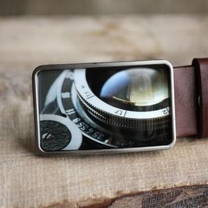 Kamera szögletes övcsat, Táska, Divat & Szépség, Férfiaknak, Öv, övcsat, Ékszer, kiegészítő, Ha SÜRGŐS, kérdezz vásárlás előtt, lehet, hogy van belőle kész darabom készleten. __________________..., Meska
