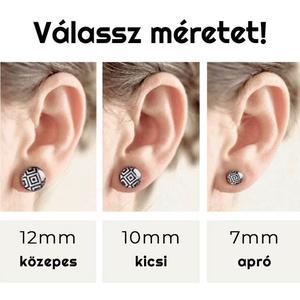 Mucha bedugós fülbevaló - Meska.hu
