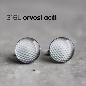 Golflabda nemesacél mandzsetta gombok, Mandzsettagomb & Nyakkendőtű, Ékszer, Ékszerkészítés, Mindenmás, Ha SÜRGŐS, kérdezz vásárlás előtt, lehet, hogy van belőle kész darabom is.\n_________________________..., Meska