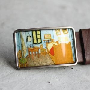 Van Gogh: Szoba övcsat, Övcsat, Öv & Övcsat, Ruha & Divat, Ékszerkészítés, Mindenmás, Ha SÜRGŐS, kérdezz vásárlás előtt, lehet, hogy van belőle kész darabom is.\n_________________________..., Meska