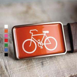 Bicikli övcsat (narancs, szögletes), Övcsat, Öv & Övcsat, Ruha & Divat, Ékszerkészítés, Mindenmás, Ha SÜRGŐS, kérdezz vásárlás előtt, lehet, hogy van belőle kész darabom is.\n_________________________..., Meska