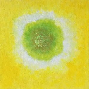 A szív hívószava, Művészet, Festmény, Akril, Festészet, A kép, csakúgy mint a többi festményem is, felső sugallatra készült. Mind a színeket és magát a képe..., Meska