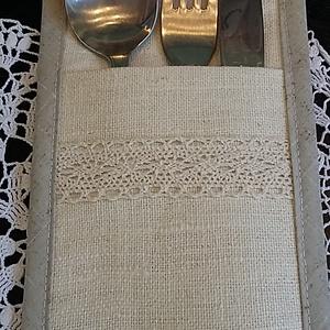 Trendi dekoráció terített asztalra (pallagiporta) - Meska.hu