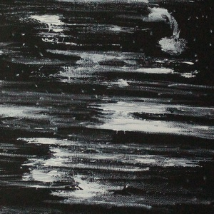 Kozmosz, Művészet, Festmény, Festmény vegyes technika, Festészet, Festmény, feszített vászonra, mérete 20*50cm, Meska