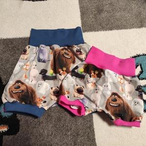 Kézműves baba rövidnadrág, választható méretben, Ruha & Divat, Babaruha & Gyerekruha, Nadrág, Varrás, Kézműves baba rövidnadrág választható méretben. \n(A derék és a bokarész színe eltérhet)\nA nadrágok, ..., Meska