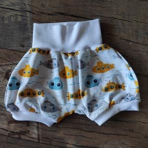 Kézműves baba rövidnadrág, választható méretben, Ruha & Divat, Babaruha & Gyerekruha, Nadrág, Varrás, Kézműves baba rövidnadrág választható méretben. \nPasszék színe eltérhet!\nA nadrágok, puha derék réss..., Meska