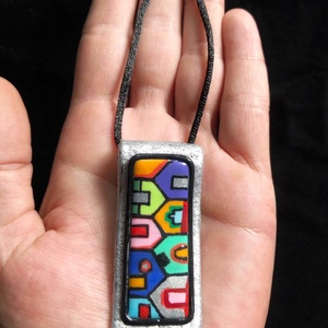 Hundertwasser nyaklánc - Meska.hu