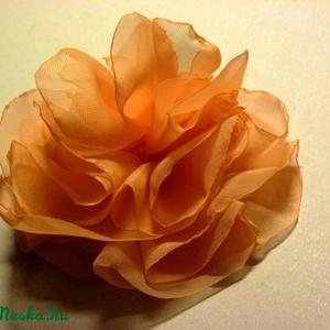 Könnyed barack virág (pannika) - Meska.hu