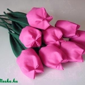 Rózsaszín tulipánok  (pannika) - Meska.hu