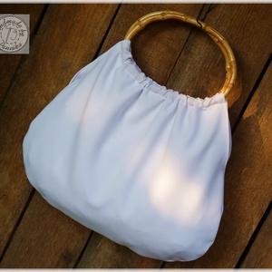 Hófehér táska (pannika) - Meska.hu
