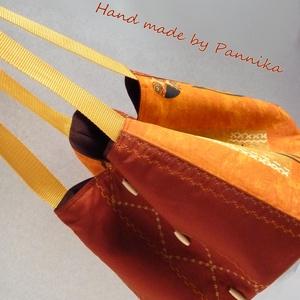 Akciósan KÍNÁLOM :) New style, new collection! Középméretű Afrika mintás táska Pannikától! (pannika) - Meska.hu