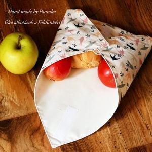 Öko szendvics-csomagolás (Madaras vízálló textilszalvéta) (pannika) - Meska.hu