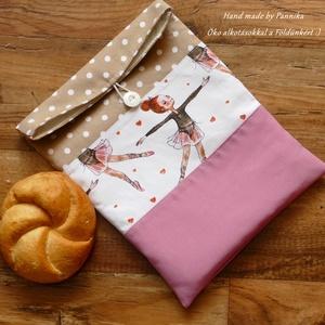 ÖKO gombos szendvics-csomagolás (balerinás vízálló tasak) (pannika) - Meska.hu