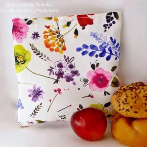 Snack bag Öko szendvics-csomagolás  (festői mintás vízálló), Táska & Tok, Uzsonna- & Ebéd tartó, Szendvics csomagoló, Varrás, NoWaste! Snack bag. Hulladék mentes szendvics-csomagolás. Öko szalvéta.\nFesrői virágmintás, vizleper..., Meska