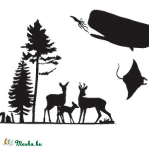Varázshajtogató-Földgömb állatai (papirforma) - Meska.hu