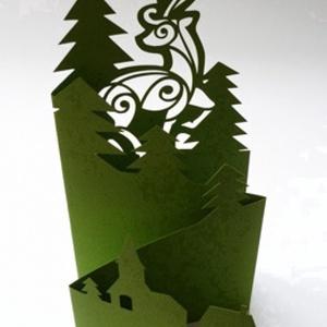Szarvas_Harmonika képeslap (papirforma) - Meska.hu