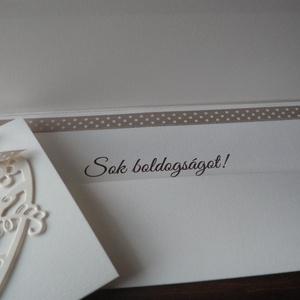 Pénzátadó boríték madárkákkal (papirosbolt) - Meska.hu