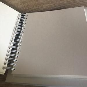 Gyűrt selyem esküvői fényképalbum, Polaroid vendégkönyv, Egyedi, Névvel ellátott,  (papirosbolt) - Meska.hu