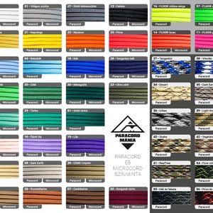 - Amazon - karkötő vitorlás színekben (paracordmania) - Meska.hu