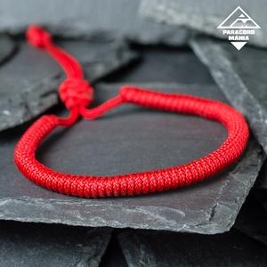 - Red Shield - páros védelem karkötő (2 db) (paracordmania) - Meska.hu