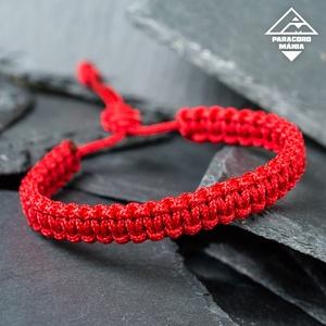 - Red Shield kobra - páros védelem karkötő (2 db) (paracordmania) - Meska.hu