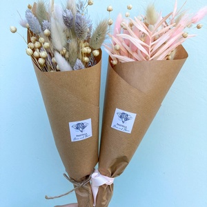 """Szárazvirágcsokor (mini), Otthon & Lakás, Dekoráció, Csokor & Virágdísz, Virágkötés, 2021 legdivatosabb csokrai a szárazvirág csokrok. Miért fogod imádni?\n-akár \""""örökké\"""" megmarad hiszen..., Meska"""