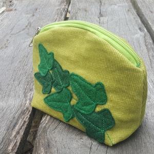 Borostyán zöld színű kord neszeszer (patonaifabian) - Meska.hu