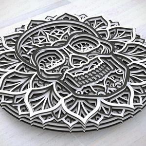 Mandala koponya - Meska.hu