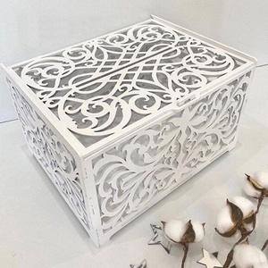 Nászajándék gyűjtő doboz, Esküvő, Emlék & Ajándék, Doboz, Festett tárgyak, Famegmunkálás, Meska