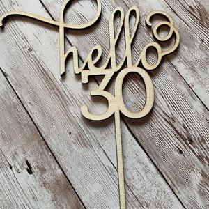 Hello30 topper - Meska.hu