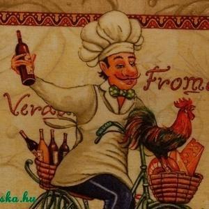 KONYHAI KÉP SZETT BICIGLIS 2db-os - otthon & lakás - konyhafelszerelés - konyhai dísz - Meska.hu