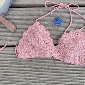 Horgolt  nyári felső, bikini felső (Pekangel) - Meska.hu