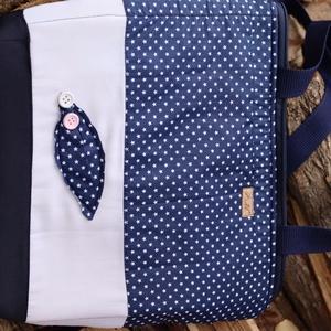 Textíltáska, Táska & Tok, Kézitáska & válltáska, Válltáska, Varrás, Vászonból készült táska\nBélelt, strapabíró táska a mindennapokra.\nCsodás ajándék lehet!, Meska