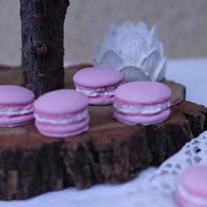 Macaron, kézzel készített gipszmacaron dekoráció - esküvő - dekoráció - helyszíni dekor - Meska.hu