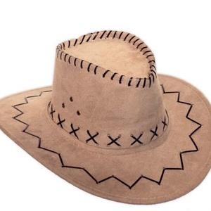 Velúr westwrn kalap, Egyéb, Varrás, Divatos velúr western kalap több színben., Meska
