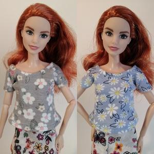 Barbie póló - játék & gyerek - baba & babaház - babaruha, babakellék - Meska.hu