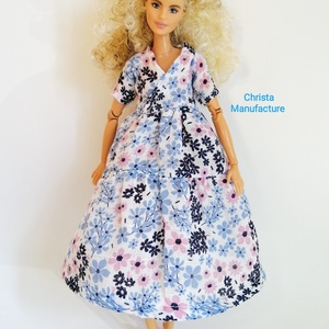 Barbie ruha, Játék & Gyerek, Baba & babaház, Babaruha, babakellék, Varrás, Romantikus, laza gézruha, mely illik többféle babára is.\nA cipőt külön megveheted a boltomban. \nNézz..., Meska