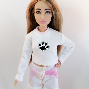 Barbie hosszú ujjú felsőrész , Játék & Gyerek, Baba & babaház, Babaruha, babakellék, Varrás, Meska