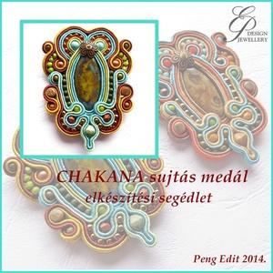 Chakana sujtás medál elkészítési segédlet, DIY (Csináld magad), Fűzésminták, Chakana sujtás medál  A minta tartalma Részletes lépésről-lépésre szöveges magyarázatot és több mint..., Meska