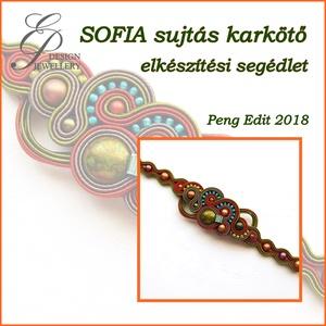Sofia karkötő elkészítési segédlet, DIY (Csináld magad), Fűzésminták, A minta tartalma Részletes lépésről-lépésre szöveges magyarázatot és 115 db színes fotót tartalmaz. ..., Meska