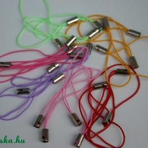 25 db mobildísz alap, Gyöngy, ékszerkellék, Egyéb alkatrész, Ékszerkészítés, Szerelékek, Mobildísz alap rózsaszín, pink, lila, barna, piros, citrom, narancs, kék, zöld, neonzöld, világoszöl..., Meska