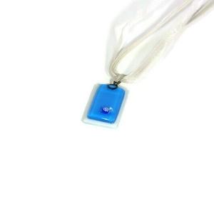 Akciós Kék medál, Ékszer, Nyaklánc, Medálos nyaklánc, Ékszerkészítés, Üvegművészet, Meska