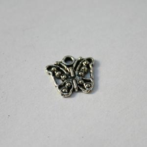 20 db Tibeti ezüst színű pillangó medál - Meska.hu